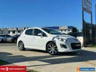 2013 Peugeot 308 T7 Active Hatchback 5dr Spts Auto 6sp 1.6T [MY13] White A