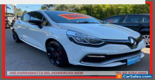 2015 Renault Clio X98 RS 200 Sport White Automatic 6sp A Hatchback