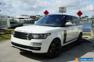 2016 Land Rover Range Rover NO RESERVE ON THE NICEST RANGE ROVER WITH WARRANTY