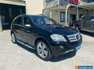 2010 Mercedes-Benz M-Class W164 ML350 CDI BlueEFFICIENCY Black Automatic A