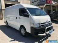 2012 Toyota HiAce KDH221R White Manual M Van