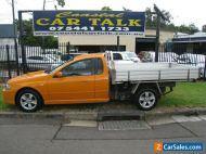 Ford Falcon BF MkII XR6 Orange Utility 5 Speed Manual RWC 184,000 klm