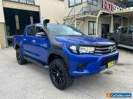 2016 Toyota Hilux GUN126R SR Blue Automatic A Utility