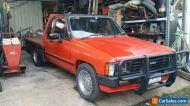 TOYOTA HILUX 1984 SR5 V6 AUTO EXTRACAB