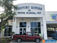 2001 Chevrolet S-10 2 owner., clean CARFAX, no accidents, manual transmission
