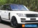 2017 Land Rover Range Rover TDV6 Vogue Auto 4x4 MY17 for Sale