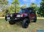 Nissan Patrol Y61 1998 6 Cyl 2.8 L Turbo Diesel. 20,000km  FULL Reco Engine. for Sale