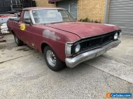 1971 Ford Falcon Xy Ute Suit Gt Gs Project