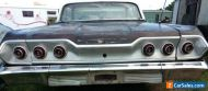 1963 CHEVROLET IMPALA 2 DOOR SPORTS COUPE HARDTOP COMES WITH NEW & USED PARTS