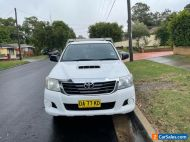 2012 Toyota Hilux SR cab chassis turbo diesel manual still excellent.