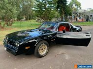 1977 PONTIAC TRANS AM 400 BIG MATCHING NUMBERS  W72 WS4 GLEAMING COND