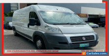 2012 Fiat Ducato MY11 LWB/Mid White Automatic 6sp A Van