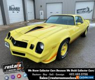 1979 Chevrolet Camaro Z28, 350ci - 4 Speed, Yellow, Restored
