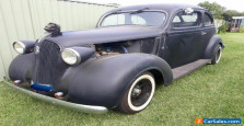 Plymouth 1937 Sloper. Rat Rod. Barn Find.