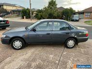 Toyota Corolla sedan 184 kms same as Holden nova auto air con comes with rwc reg