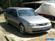 ford falcon ba wagon with registration PETROL AND GAS,    NO RESERVE