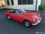 1963 MG MGB Sports Red Manual 4sp M Roadster