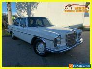 1967 Mercedes-Benz 280SE W108 AUTOMATIC SEDAN White Automatic A Sedan