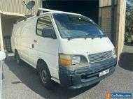 2002 Toyota HiAce RZH103R White Automatic A Van