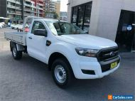 2016 Ford Ranger PX MkII XL 3.2 (4x4) White Manual 6sp M Cab Chassis