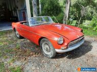 Restoration project 1969 MGB