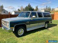 1985 Chevrolet Suburban Silverado 2500 4x4