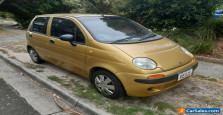 daewoo matiz 2000 model GOLD BARGIAN