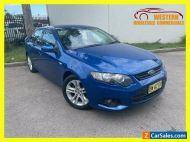 2012 Ford Falcon FG MkII XR6 EcoLPi Sedan 4dr Spts Auto 6sp, 4.0Gi (Sep) Blue A