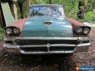 FORD 1958 USA COUNTRY STATION WAGON 352 FAIRLANE CUSTOM 300 FE V8 GOLD FLASH RHD