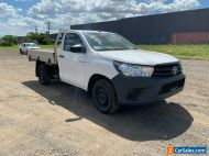 2017 Toyota Hilux Workmate TGN121 Automatic Single Cab - STAT WRITE OFF