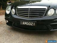 Mercedes Benz sedan E63 AMG V8 auto