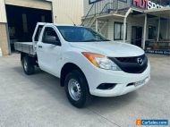 2014 Mazda BT-50 UP0YD1 XT White Manual M Cab Chassis