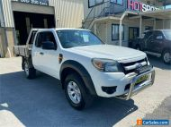 2010 Ford Ranger PK XL White Manual M Cab Chassis