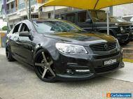 2014 Holden Commodore VF SS-V Black Manual 6sp M Sedan