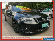 2012 Holden Commodore VE II MY12.5 SS Z-Series Black Manual 6sp M Utility