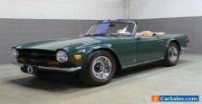 1971 Triumph TR-6 Overdrive