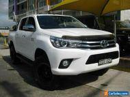 2015 Toyota Hilux GUN126R SR5 (4x4) White Automatic 6sp A Dual Cab Utility