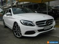 2016 Mercedes-Benz C250 205 MY16 D White Automatic 7sp A Sedan