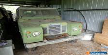 Land Rover Series 3, 2.25 Petrol, SWB, Hard top, Barn Find, Running 1976