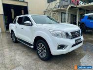 2016 Nissan Navara D23 S2 ST White Automatic A Utility