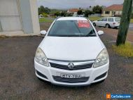 2007 Holden Astra AH CD White Automatic A Wagon