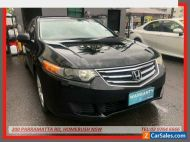 2011 Honda Accord 10 MY11 Euro Black Automatic 5sp A Sedan