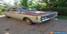 1965 MERCURY MONTEREY MARAUDER 2 DOOR FASTBACK 1 OWNER CA CAR LOW MILES PROJECT