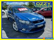 2010 Ford Falcon FG XR6 Blue Automatic 5sp A Cab Chassis