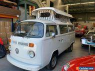 1976 VW KOMBI POP TOP CAMPER EXTENSIVE RESTORATION