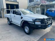 2016 Ford Ranger PX MkII XL White Automatic A Cab Chassis