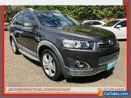 2015 Holden Captiva CG MY15 7 LTZ (AWD) Grey Automatic 6sp A Wagon