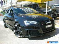 2016 Audi RS 3 8V Sportback Quattro Black Automatic 7sp A Hatchback