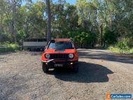 AVID 2017 Jeep renegade trailhawk Orange