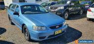 2005 Ford Falcon BA MkII Futura Blue Automatic 4sp A Wagon